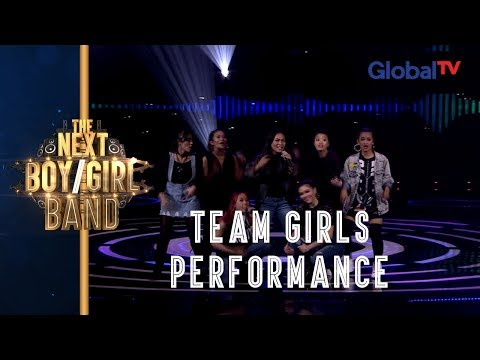 Super Hot! Team Girl Perform Sambil Beatbox!! | The Next Boy/Girl Band GlobalTV