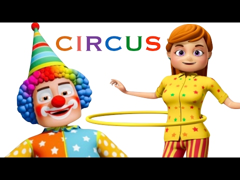 Funny Little Babies Visiting Circus | Zool Babies Kids Songs | Cartoon Animation For Children