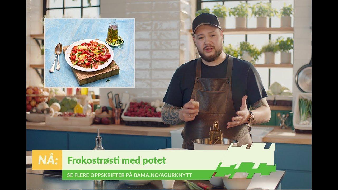 Frokostrøsti med gode norske poteter