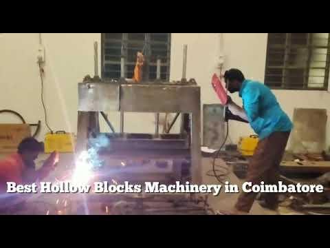 Hollow Blocks And Solid Blocks Making Machine