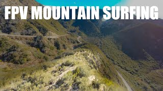 FPV Mountain Surfing