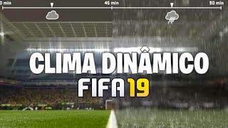 FIFA 19 GOZARÍA CON LA FUNCIÓN DEL CLIMA DINÁMICO EN SUS PARTIDOS
