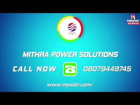 Corporate Video of Mithra Power Solutions, Nagarbhavi, Bengaluru