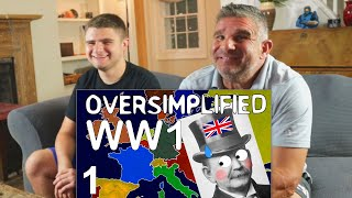Dad Reacts to WW1 - Oversimplified Part 1