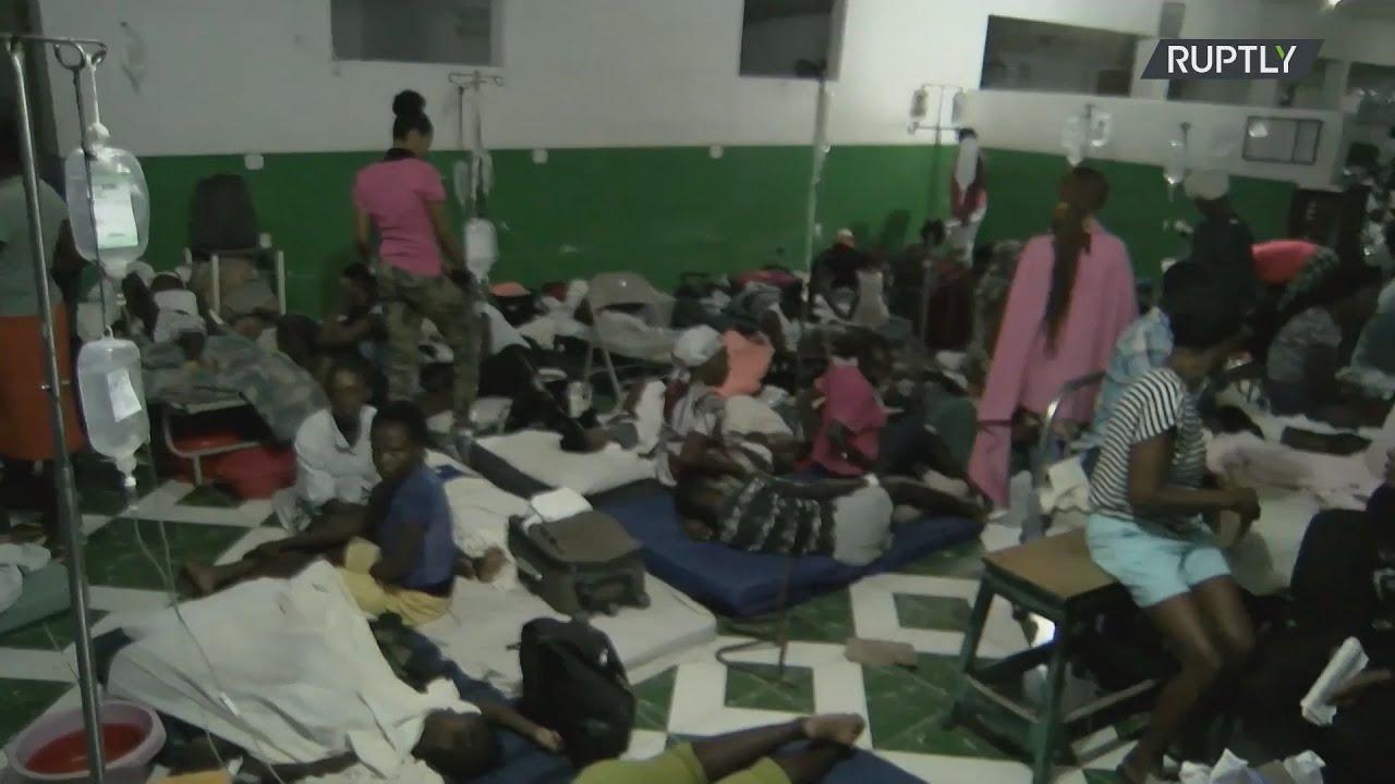 Αϊτή: Η τροπική καταιγίδα Γκρέις φέρνει στα όρια  του το προσωπικό των νοσοκομείων