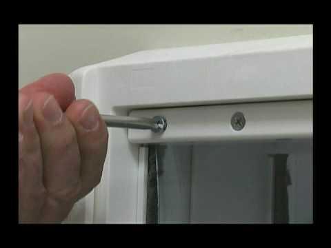 Ideal Pet Ruff-Weather Pet Door - Extra Large Video