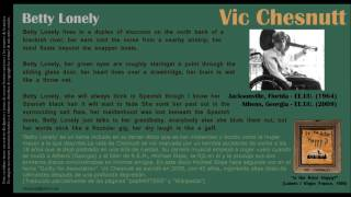 Betty Lonely - Vic Chesnutt
