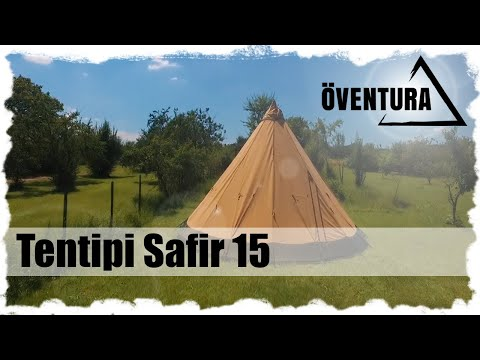 Tentipi Safir 15 - Packmaß, Inhalt, 6 Min.Aufbau, Impressionen