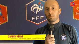 Damien Hervé de retour avec la sélection nationale U19F