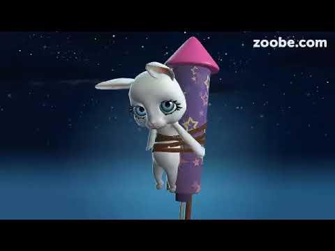 Zoobe Зайка- веселое поздравления с Пасхой