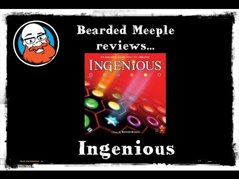 Bearded Meeple reviews Ingenious
