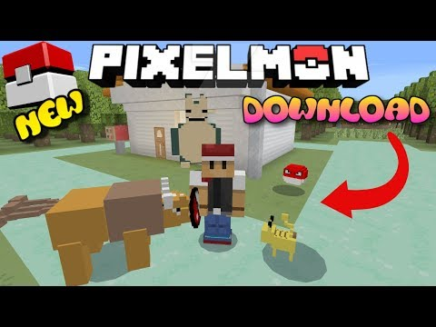 Pokemon Addon Bedrock Edtion Minecraft Project