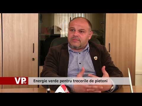 Energie verde pentru trecerile de pietoni