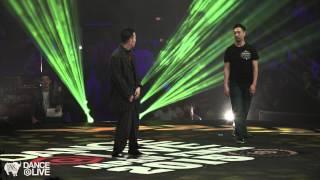GUCCHON vs BAFARIN(バファリン)Freestyle Final DANCE@LIVE Japan 2015   YAK BATTLES