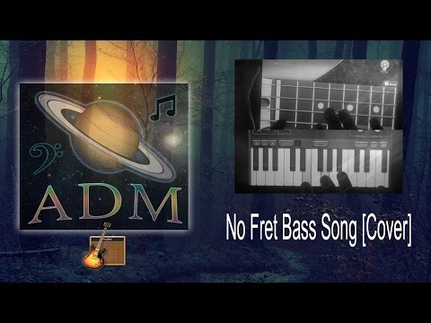 No Fret Bass Song - Davie504 Cover GarageBand [AndrewDarkMusic]