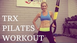 15 Minute TRX Pilates Workout by BodyFit By Amy