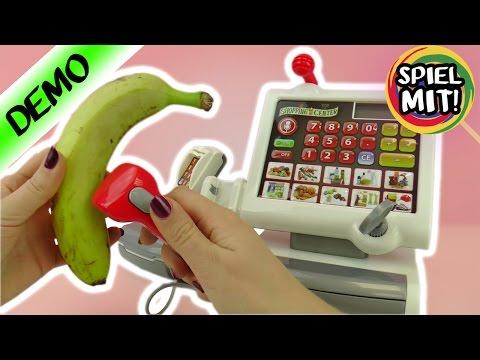 SUPERMARKT SPIELEN mit Klein Registrierkasse | im Shopping Center arbeiten | Demo