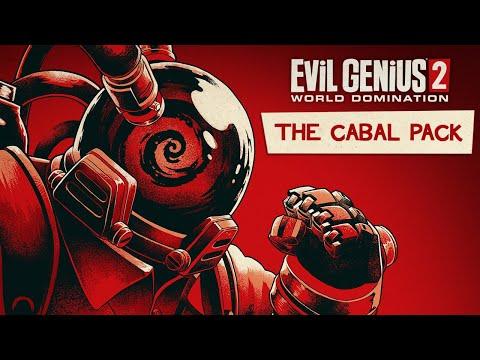Evil Genius 2: World Domination Cabal Pack Trailer
