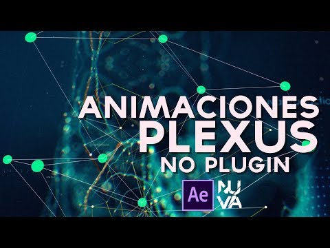 Animaciones Estilo Plexus After Effects Tutorial