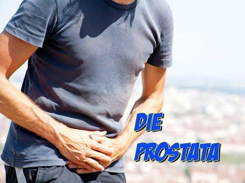 Drückender Schmerz in Prostatitis