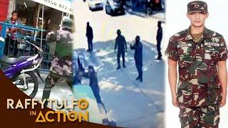 ANG VIRAL VIDEO NG MGA PULIS AT NG ISANG EX-ARMY. IDOL RAFFY, INAKSYUNAN!