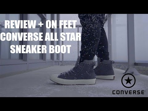 Review + On Feet : Converse Chuck Taylor All Star Boot