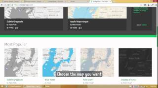 Adobe Muse CC - Make your Google Maps look  Awesome using Snazzy Maps
