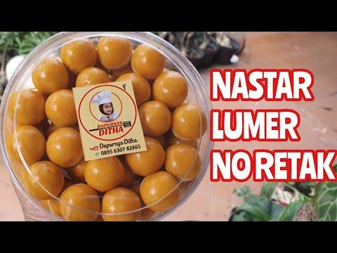 Resep dan cara membuat Nastar lumer dan endeeessss