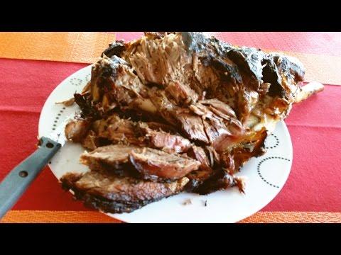 Crispy Roast Leg of Lamb Recipe