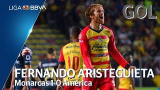 Gol de F. Aristeguieta | Morelia 1 - 0 América | Liga BBVA MX - Semifinales