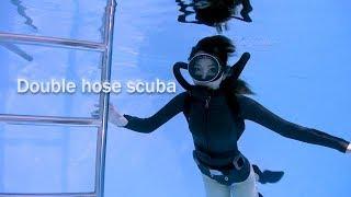 Double hose scuba
