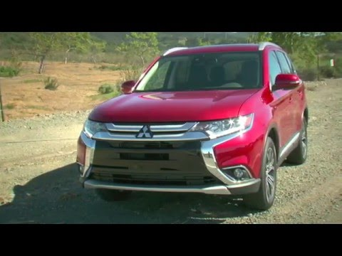 2016 Mitsubishi Outlander review from Family Wheels