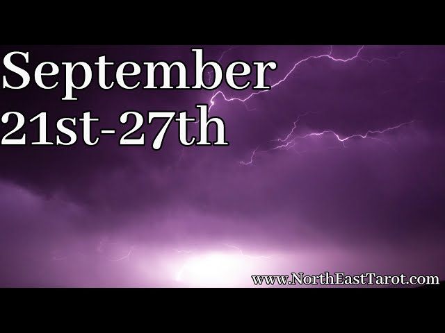 Capricorn ♑️ Weekly Forecast September 21st-27th 💜✨