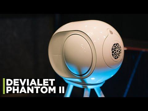 Devialet Phantom II 98 DB Matte Black Video #1