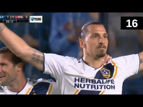 Zlatan Ibrahimovic All 16 Goals LA Galaxy MLS 2018