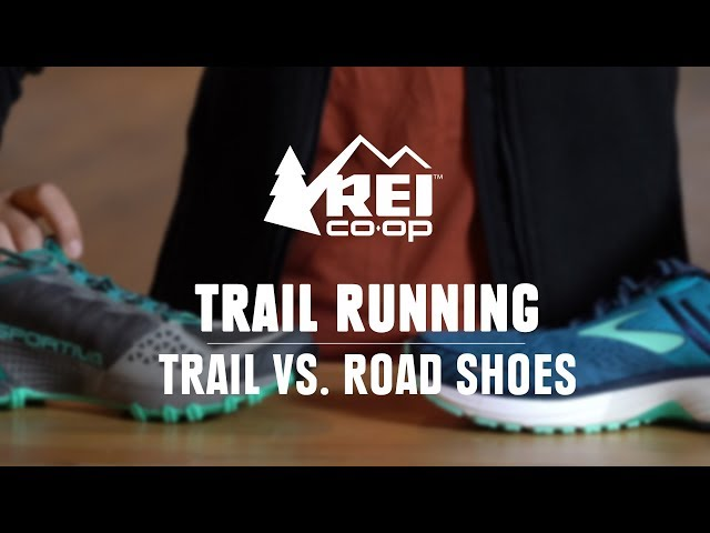 What's the Difference Between Trail and Road Shoes?    REI