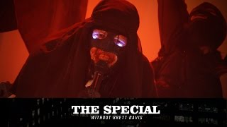 Abigor (Alec Lambert) rallies The Great Darkness on The Special Without Brett Davis