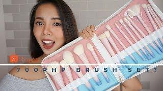 VDL My Destiny Pro  Pantone Brush Set - Shoppee Brush Set Review