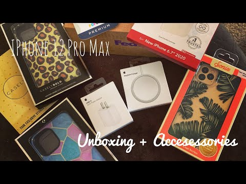 iPhone 12 Pro Max Unboxing + Accessories (Casely Review)