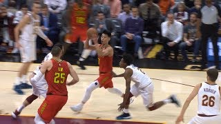Jeremy Lin's Best Game as a Hawk thus far -10/30/18 Hawks at Cavs