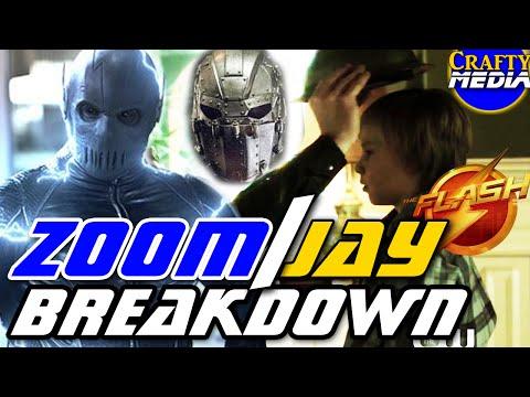 Jay Garrick is Zoom Hunter Zolomon Plot Holes! Man in the Iron Mask? Rupture! The Flash Season 2