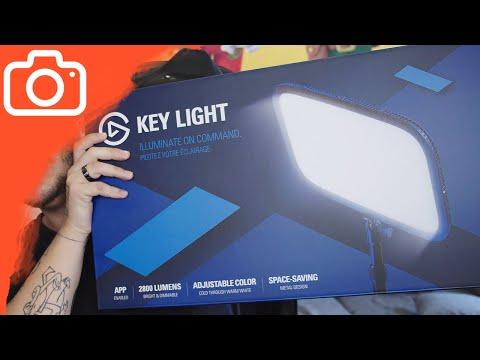Nejlepší světla pro YouTubery a streamery! - Elgato Key Lights