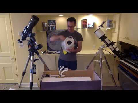Explore Firstlight 114mm Reflector Telescope – Unboxing and assembly