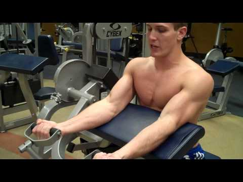 How To: Arm Curl (Cybex)