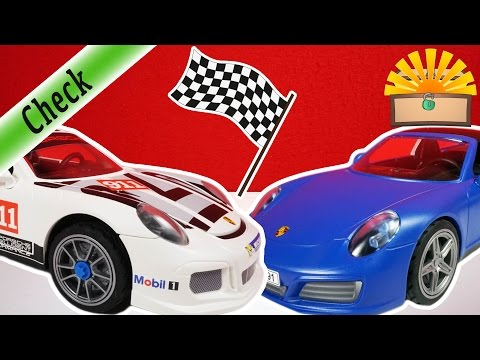 PORSCHE TARGA vs. GT3 CUP - WELCHER ist BESSER ? - Playmobil VERGLEICH