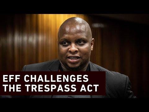 EFF's challenges the Trespass Act