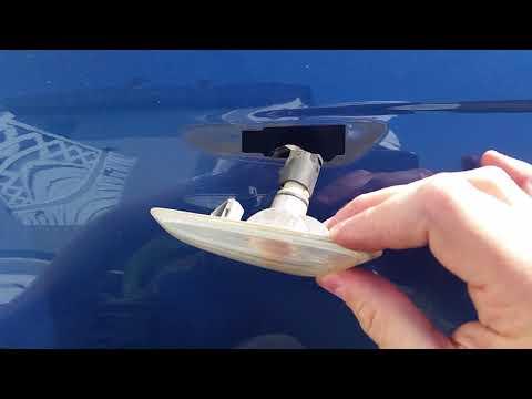 BMW E46 Blinker wechseln - Seitenblinker ausbauen und tauschen