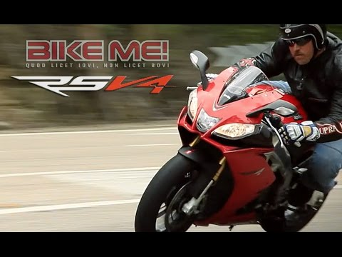 Aprilia RSV4 R Review - BIKE ME!