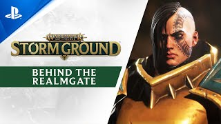 Warhammer Age of Sigmar: Storm Ground - Behind the Realmgate Trailer | PS4