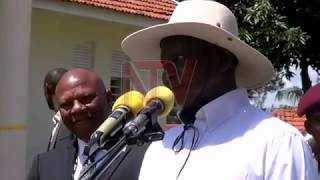 President Museveni has today opened a National Data Center in